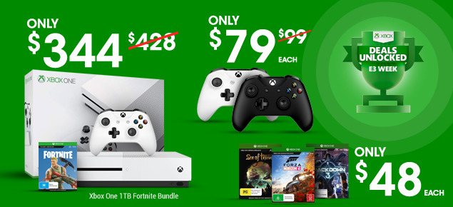 Xbox One E3 Deals Unlocked!