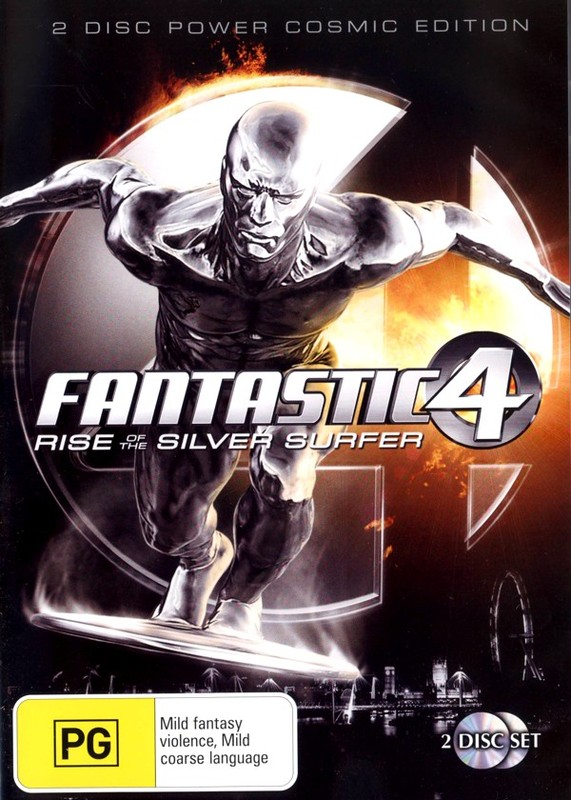 Fantastic 4 - Rise Of The Silver Surfer (2 Disc Set) on DVD