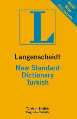 Langenscheidt New Standard Dictionary Turkish by Resuhi Akdikmen