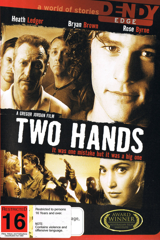Two Hands on DVD