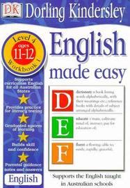 English Made Easy Level 4 (Age 11-12): Workbook 1 by Dorling Kindersley image