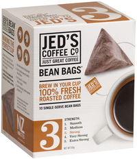 Jed's Coffee Co: 3 Bean Bags Coffee (10 Bags)
