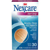 Nexcare Steri-Strip Skin Closure (6x100mm 30s)