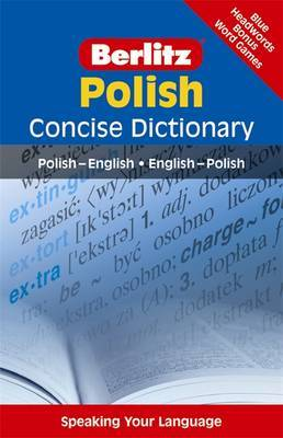 Berlitz Language: Polish Concise Dictionary: Polish-English, English-Polish image