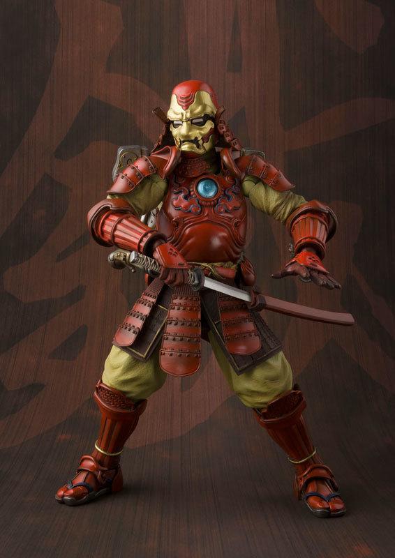 Где делают железний самурай