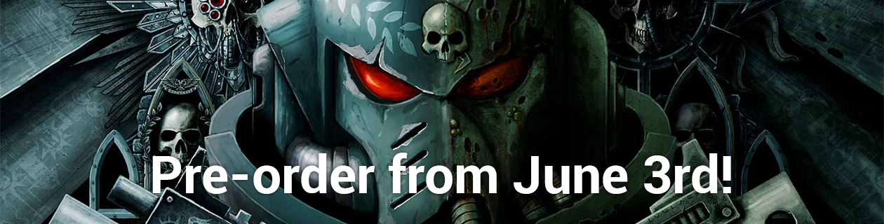 Pre-order Warhammer 40K 8th Edition from June 3rd!