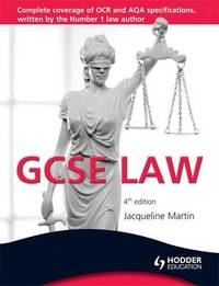 GCSE Law by Jacqueline Martin image