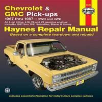 Chevrolet & GMC Pick-Ups (67 - 87) by Ken Freund