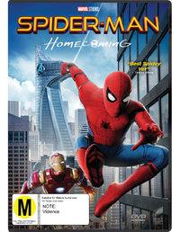 Spider-Man: Homecoming on DVD image