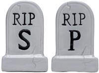 Sourpuss: Tombstones - Salt & Pepper Shakers