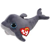 Ty Beanie Boo: Grey Dolphin - Small Plush