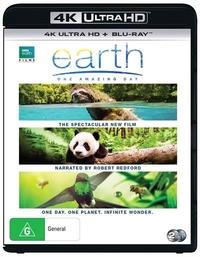 Earth: One Amazing Day (4K UHD + Blu-ray) on UHD Blu-ray