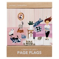 Girl of All Work: Page Flags - Crazy Cat Lady