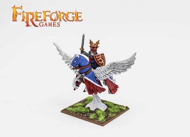 Fireforge Albion's Noble on Pegasus (Lion)