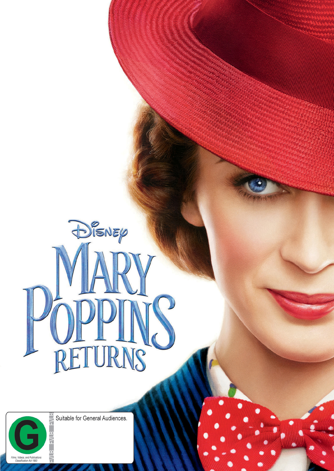 Mary Poppins Returns on DVD image