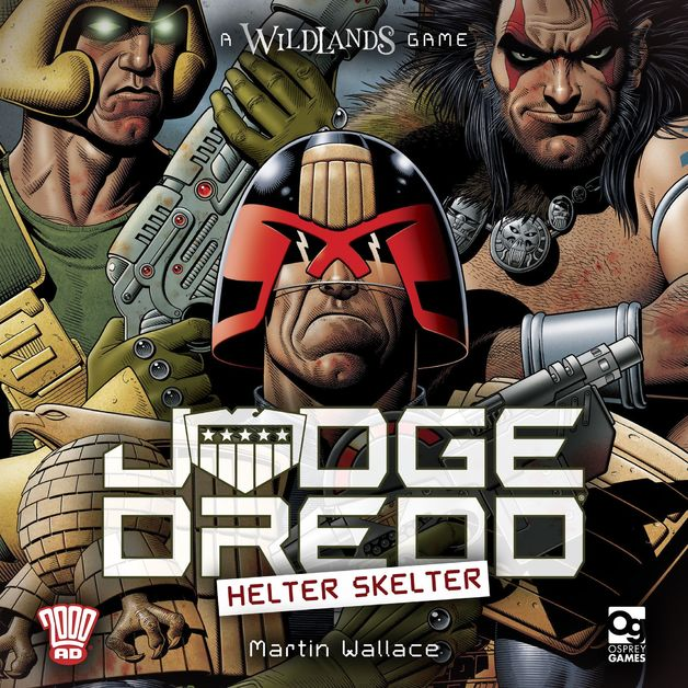 Judge Dredd: Helter Skelter - Board Game
