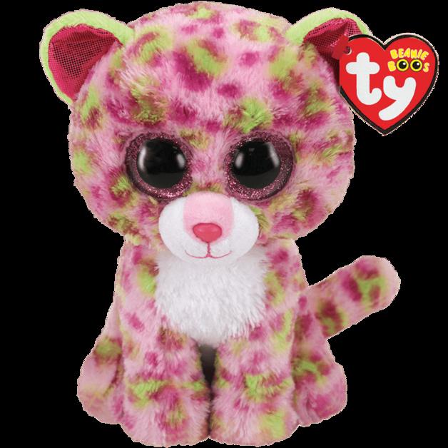 Ty Beanie Boo: Lainey Leopard - Medium Plush