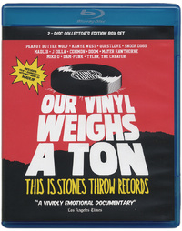 Our Vinyl Weighs a Ton: This is Stones Throw Records (Blu-ray/CD) on Blu-ray
