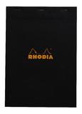 Bloc Rhodia Black A4 80 5x5 Graph Sheets