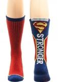 DC Comics: Superman Text - Active Crew Socks