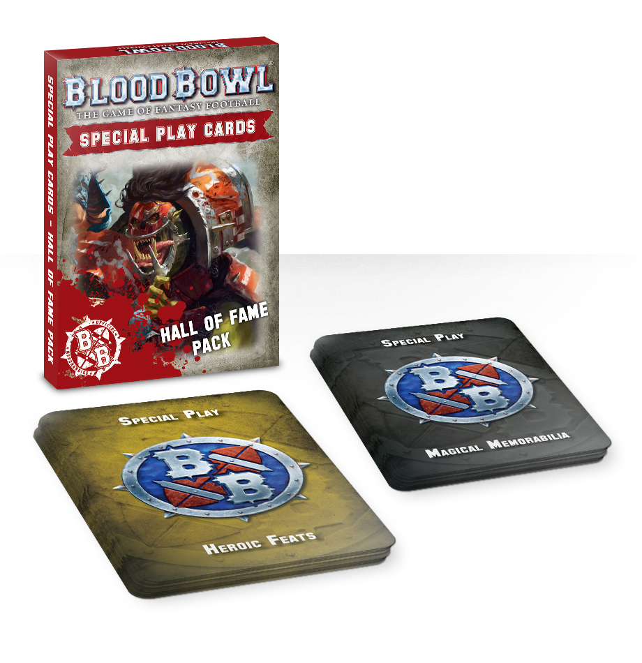 Blood Bowl: Special Play Cards: Hall of Fame Pack image