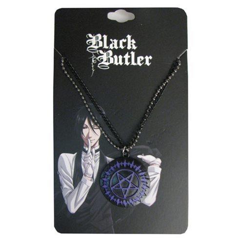 Black Butler Pentacle Double Necklace