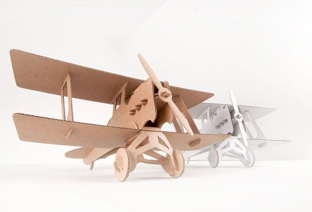 Leolandia Biplane (White)