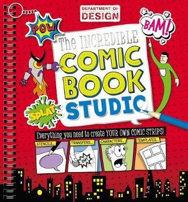 The Incredible Comic Book Studio by Make Believe Ideas, Ltd. image