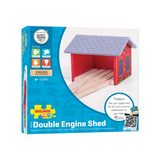 Bigjigs: Double Engine Shed
