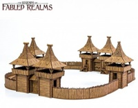 Fabled Realms: Fyrburgh Fort - Diorama Kit