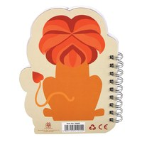 Colourful Creatures Spiral Notebook - Lion image