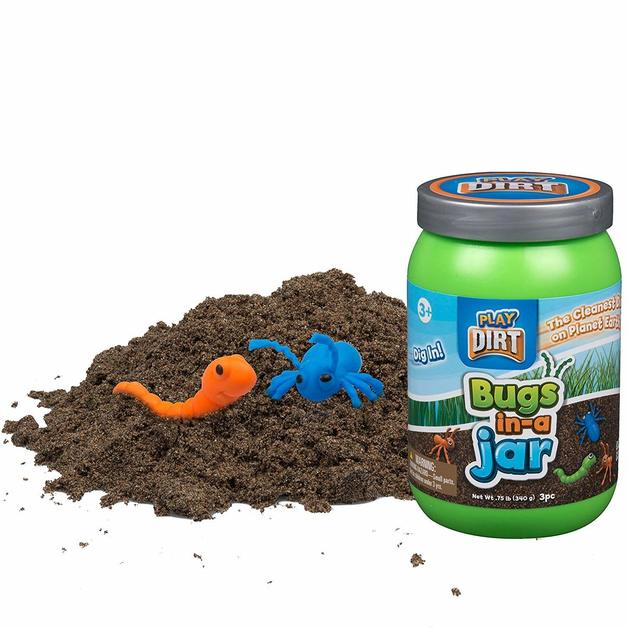 Play Dirt - Bugs In A Jar