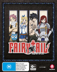 Fairy Tail Collection (Limited Edition) on Blu-ray