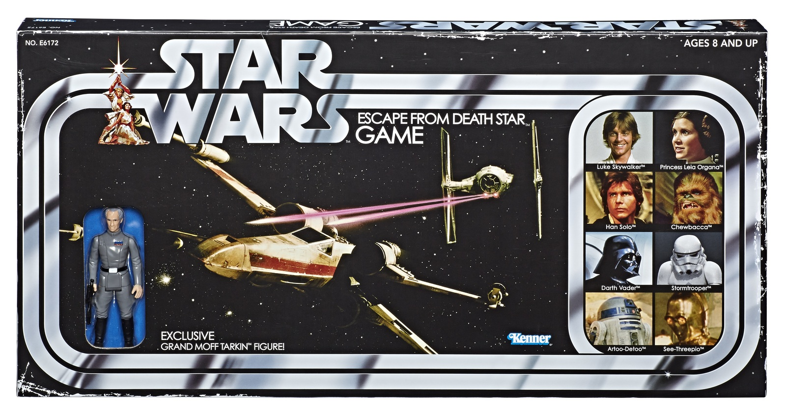 Star Wars: Escape From Deathstar - Retro Board Game image