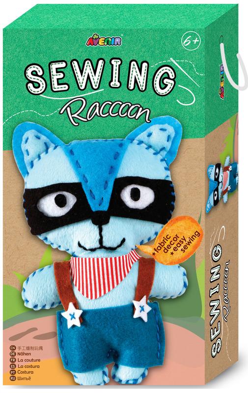 Avenir: Sewing Doll Kit - Raccoon
