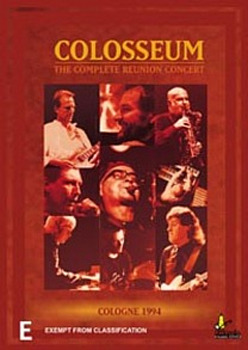 Colosseum - Live - The Complete Reunion  on DVD