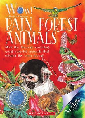 Rain Forest Animals by Carolyn Franklin
