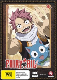 Fairy Tail - Collection 5 on DVD