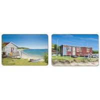 Kiwiana Coastal Serving Mats (Set of 2)