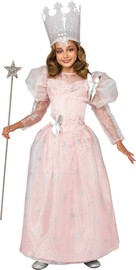 Wizard of Oz Glinda the Good Witch Deluxe Costume (Large)