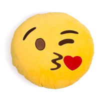 Blow Kiss Emoji Cushion - 34cm