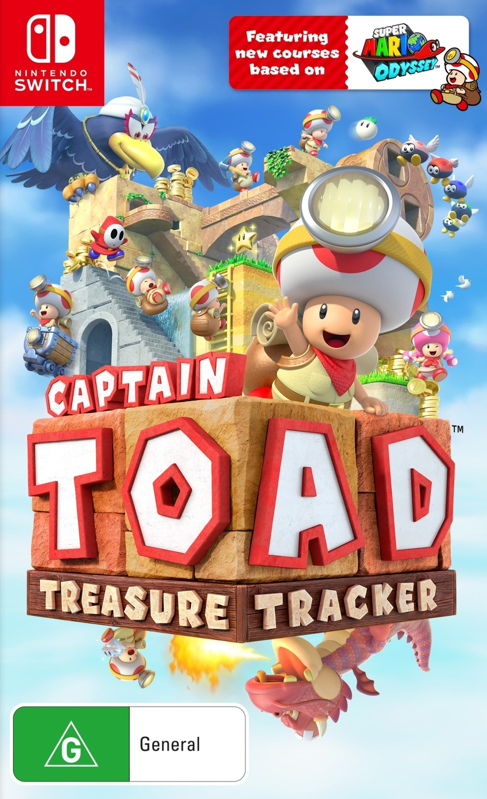 Captain Toad Treasure Tracker for Nintendo Switch image