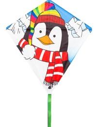 "HQ Kite: Eddy Penguin - 27"" Diamond Kite"