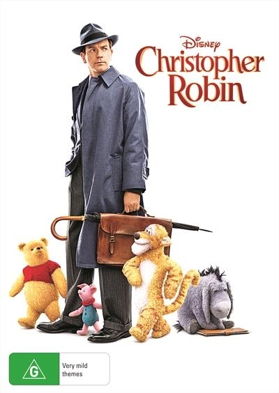 Christopher Robin on DVD image