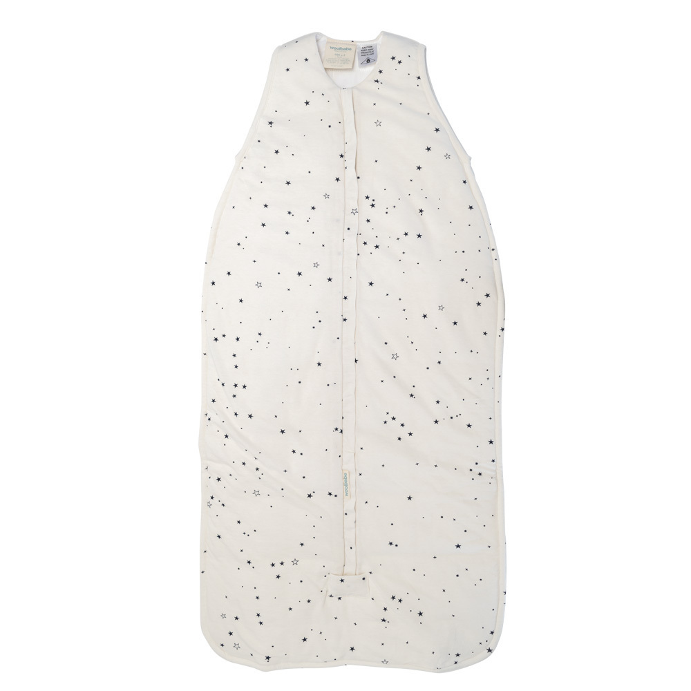 Woolbabe: Duvet Front Zip Sleep Bag - Midnight Stars (2-4 Years) image