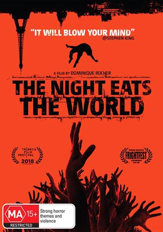 The Night Eats The World on DVD