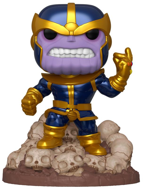 "Marvel: Thanos (Metallic) - 6"" Pop! Deluxe Figure"