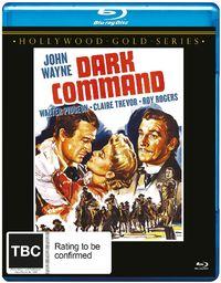 The Dark Command on Blu-ray image