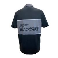 Blackcaps Inset Logo Polo (XL)