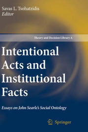 Intentional Acts and Institutional Facts image